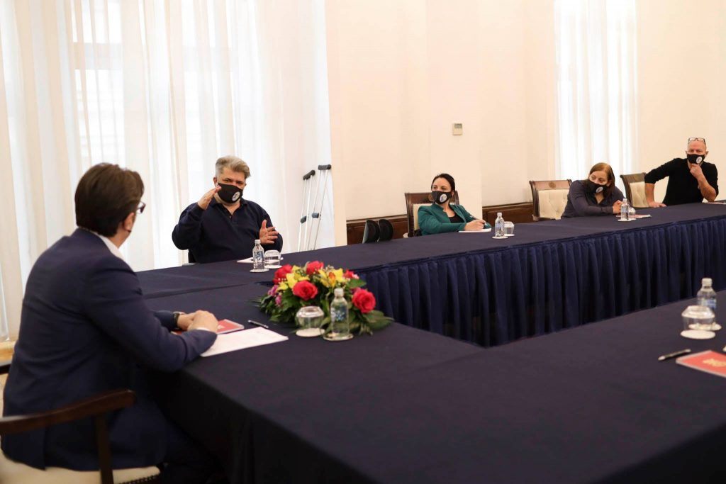 Од работната средба на Полио Плус со претседателот Стево Пендаровски