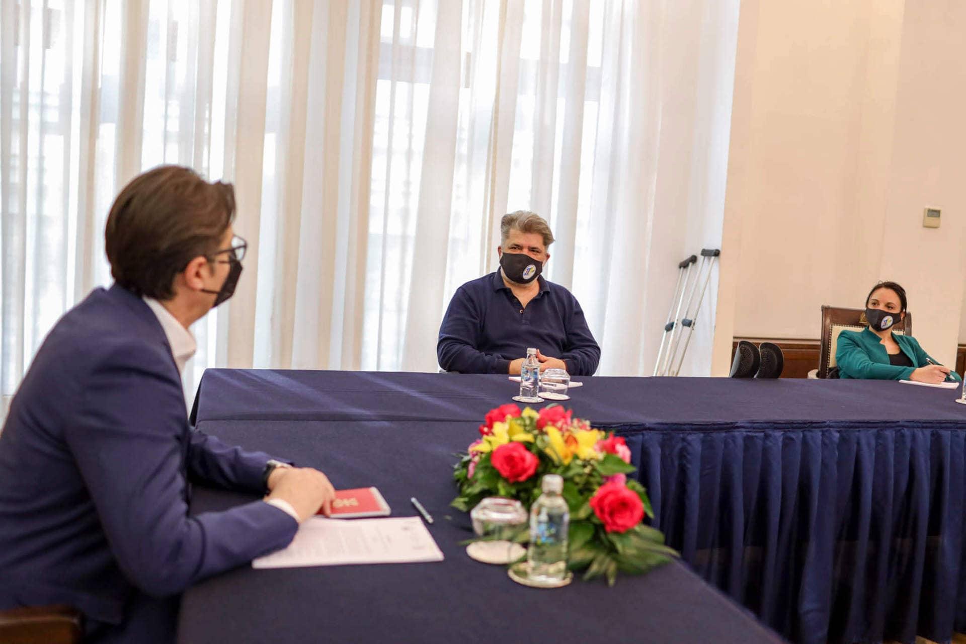 од средбата на Стево Пендаровски со Полио Плус